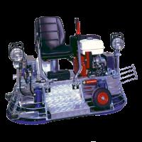 BABY DUPLEX 630 DOUBLE TROWEL MACHINE
