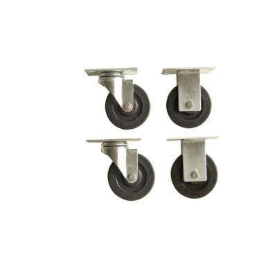 "4 Piece Caster Set (4"") For On-Site Storage Chest"