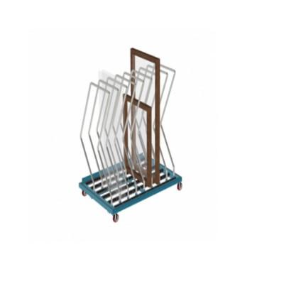 GPT 1000 - GLASS & PROFILE TROLLEY