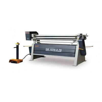 Asymmetrical Three Roll Bending Machine SM2070X76